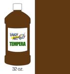 381026, Handy Art Tempera, Brown, 32oz.
