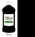 381027, Handy Art Tempera, Black, 32oz.