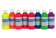 382128, Handy Art Flourescent Watercolor Kit, 8 colors, 8oz.