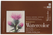 "341641, Strathmore Watercolor Pad 400 Series, 12""x18"""