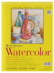 "341665, Strathmore Watercolor Pad 300 Series, 9""x12"""