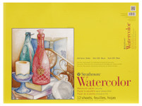 "341667, Strathmore Watercolor Pad 300 Series, 18""x24"""