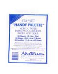"""419108, Masterson Sta-Wet Handy Palette, Film Refill, 8.5""""x7"""""""