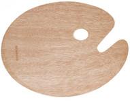 "419109, Wood Palette, Oval, 11""x15"""