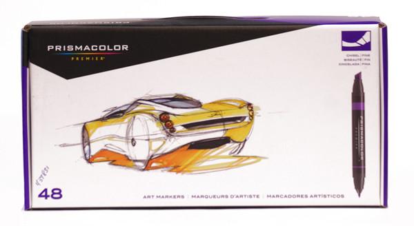 437831 Prismacolor Marker Set Bp48s 48 Markers