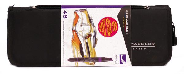 437851 Prismacolor Marker Set With Case 48 Markers