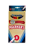 438005, Crayola Markers, Fine Tip, 8 Classic Colors