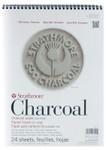 "347078, Strathmore Charcoal 500 Series Asst.Tints, 9""x12"""