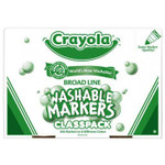 438008, Crayola Washable Markers, Conical Tip, 200 Marker Classpack