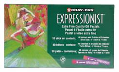 447659, Cray-Pas Expressionist Oil Pastel Set, 12/pastel