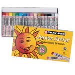 447656, Cray-Pas Junior Artist Oil Pastel Set, 16/pastel