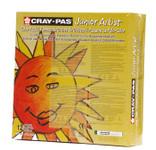 447652, Cray-Pas Junior Artist Oil Pastel, 12 colors, 432 ct. Classpack