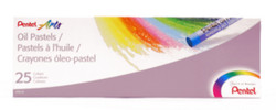 447602, Pentel Oil Pastel Set, 25/pastel