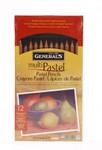 447182, General's Compressed Pastel Set, 12 Assorted Colors