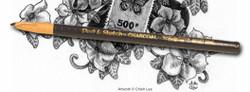 446898, General's Peel & Sketch Charcoal Pencils, Medium, dozen