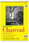 "347055, Strathmore Charcoal 300 Series Spiral Bound, 9""x12"""