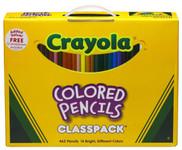 446512, Crayola Colored Pencil Classpack, 462 count