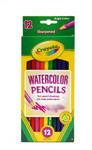 446506, Crayola Watercolor Pencils, 12 color Set