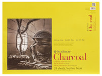 "347060, Strathmore Charcoal 300 Series Tape Bound, 18""x24"""