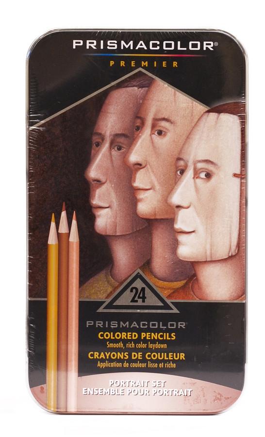 446189 Prismacolor Portrait Sketch Kit 24 Piece Set