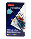 446425, Derwent Watercolour Pencil Set, 12 color