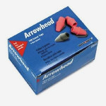 474200, Arrowhead Pencil Cap Erasers, 1 Gross