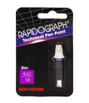 509102, Rapidiograph Technical Pen Replacement Point, 4x0