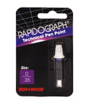 509105, Rapidiograph Technical Pen Replacement Point, 0