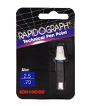 509108, Rapidiograph Technical Pen Replacement Point, 2.5