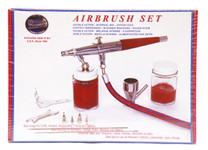 487034, Paasche Double Action Airbrush Set, VL-Set