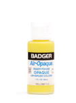 518009, Badger Air - Opaque Airbrush Colors, 1 oz.Bottle, 7-21, Yellow