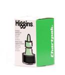 511512, Higgins Waterproof Color Drawing Ink, Leaf Green, 1oz. Bottle