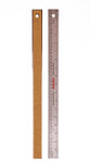 557145, Cork Back Steel Rulers, 18""
