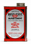 572102, Best-Test Rubber Cement, 16oz.