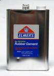 572098, Elmer's Rubber Cement, 128oz. ( pick up in store only)