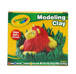 633905, Crayola Modeling Clay, Assorted, 1lb.