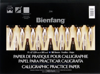 "524000, Calligraphic Practice Pad, 9"" x 12"""