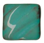 611605, Amaco Opalescent Glazes, Cone 05, Pints, O-21 CL, Aquamarine