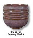 612688, Amaco Potter's Choice Glaze, PC-57, Smokey Merlot, Pint