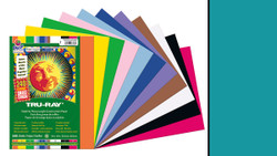 """342130,  Tru-ray Construction Paper, Turquoise, 9""""x12"""""""