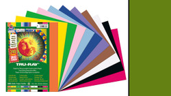 "342133, Tru-ray Construction Paper, Holiday Green, 9""x12"""