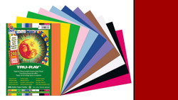 """342142, Tru-ray Construction Paper, Holiday Red, 9""""x12"""""""