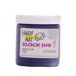 625019, Handy Art Water Soluble Block Printing Ink, Violet, 1/2 lb. Jar