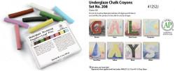 613200, Amaco Underglaze Crayon Set, #208
