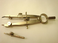 """568318, Small Bow Compass, Combination, #3593, 4-1/2"""""""