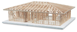 630304, Basic House Framing Kit, Hip Roof
