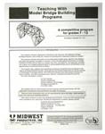 630302, Teaching with Model Bridge Buidling Book