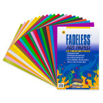 "341721, Fadeless Art Paper, Assorted, 18""x24"", 60/sheets"