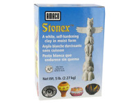 617720, Stonex Self-Hardening Clay, 5 lb. box