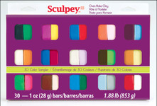 634251, S3 30-1 Sculpey 30/color Set